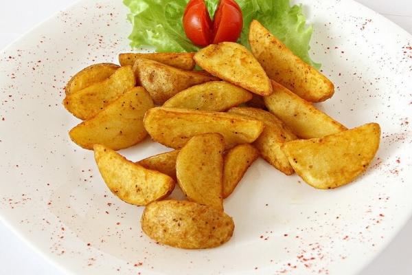Картофель дольки по-деревенски