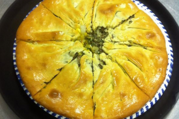 Осетинский пирог с говяжей начинкой